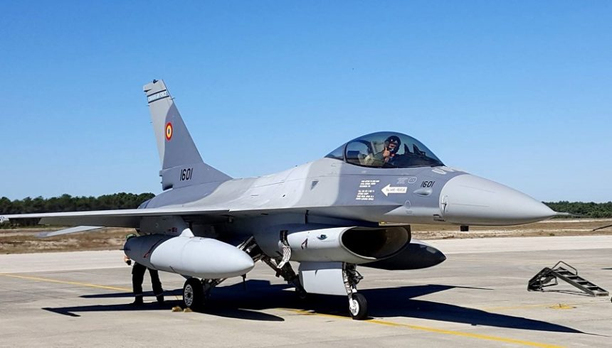 Portugal endorses sale of five F-16 jets to Romania