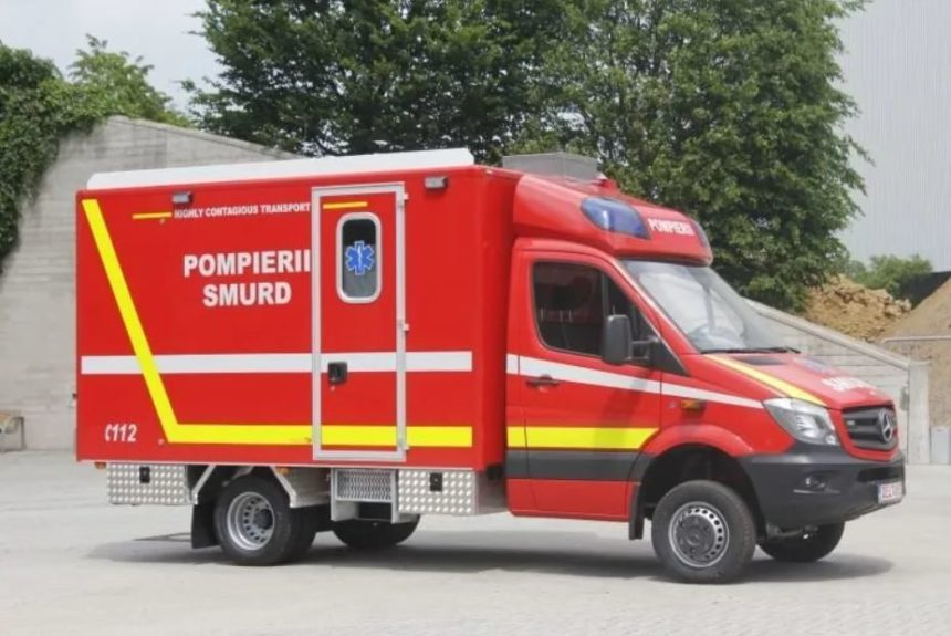 First ambulance for the transport of coronavirus patients: Deltamed ambulance sets world record