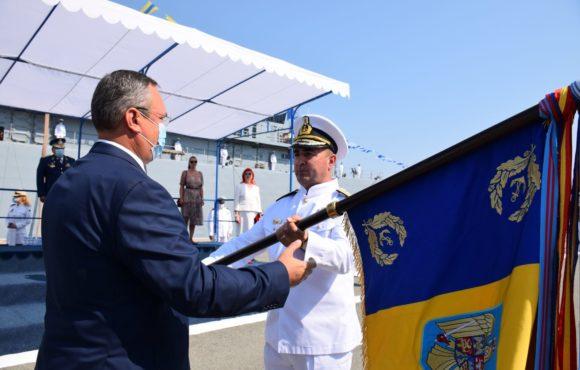 Ceremonie de schimbare a conducerii Forțelor Navale Române