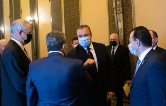 Întâlnirea ministrului român al apărării naționale cu omologul israelian