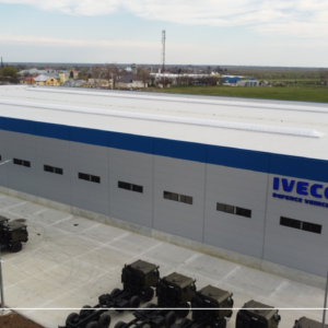 IVECO DEFENCE VEHICLES celebrates the opening of the new Romanian plant